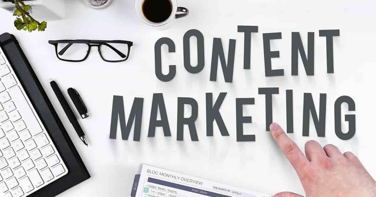 Web contents marketingです。