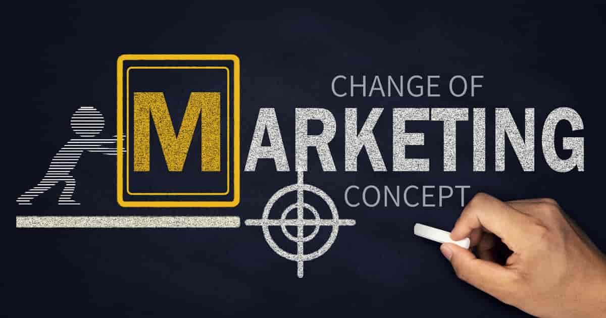マーケティングの歴史【マクロ環境の影響を受けて変化します】