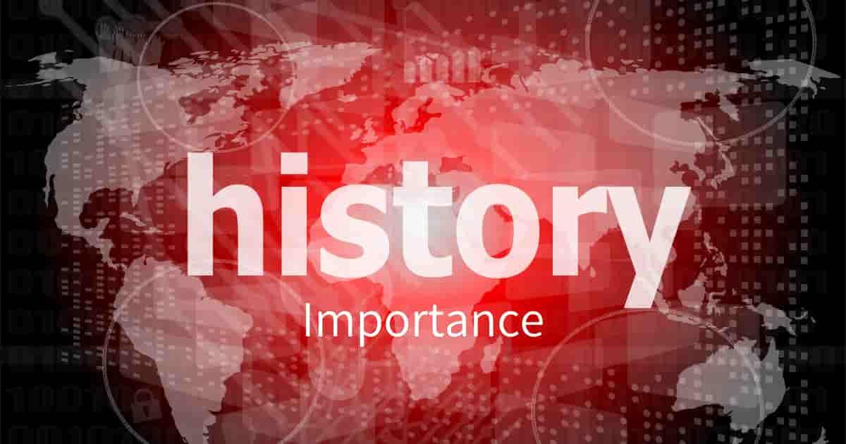 歴史を学ぶことの重要性