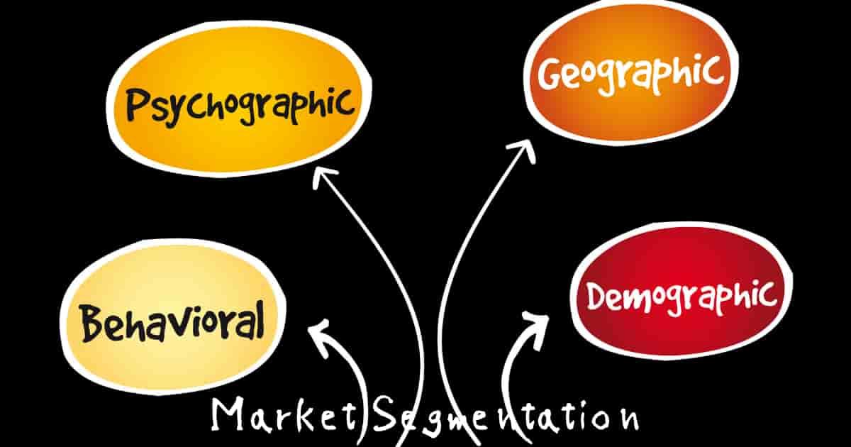 セグメンテーションにおける分類軸