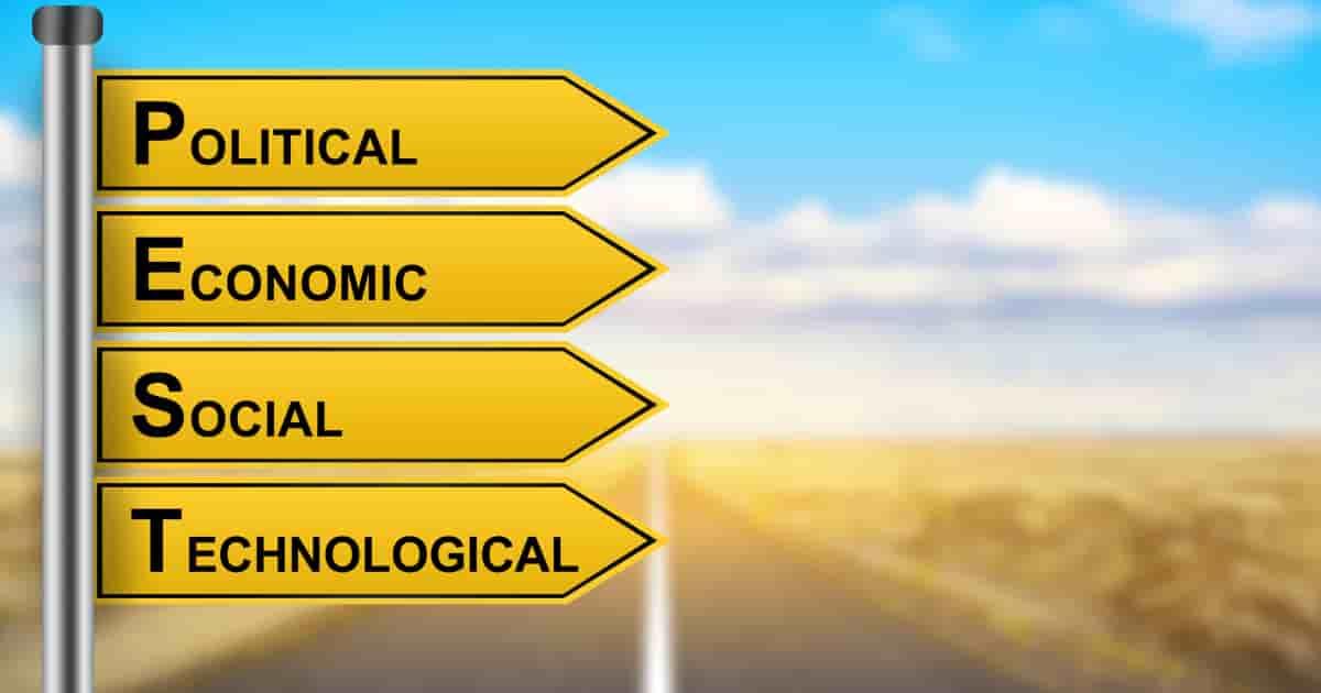 PEST分析の4つの要素