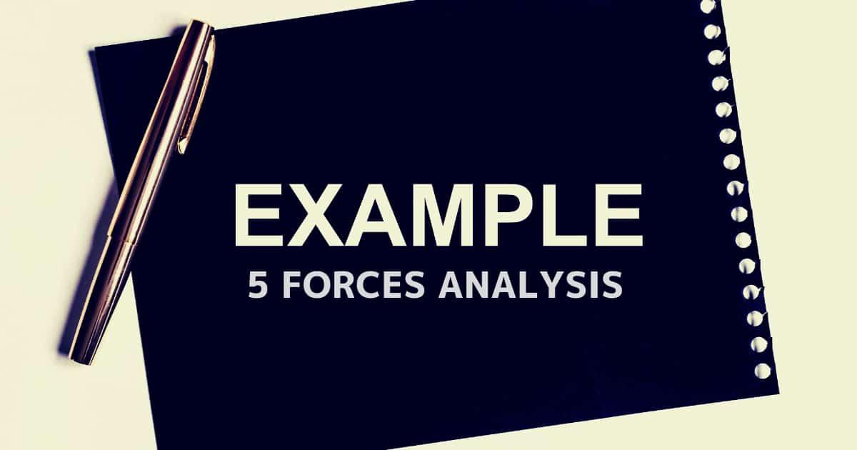 5フォース分析の事例