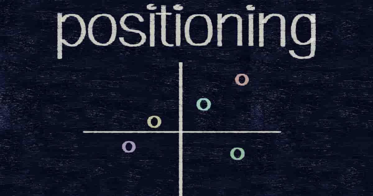 ポジショニング・マップの軸の選定に関する注意点