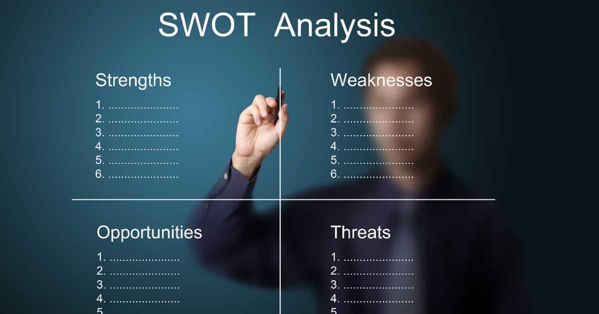 事業再生におけるSWOT分析