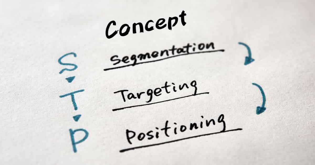 コンセプトとマーケティングのSTPとの関係